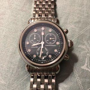 Michele 36mm CSX Diamond Watch